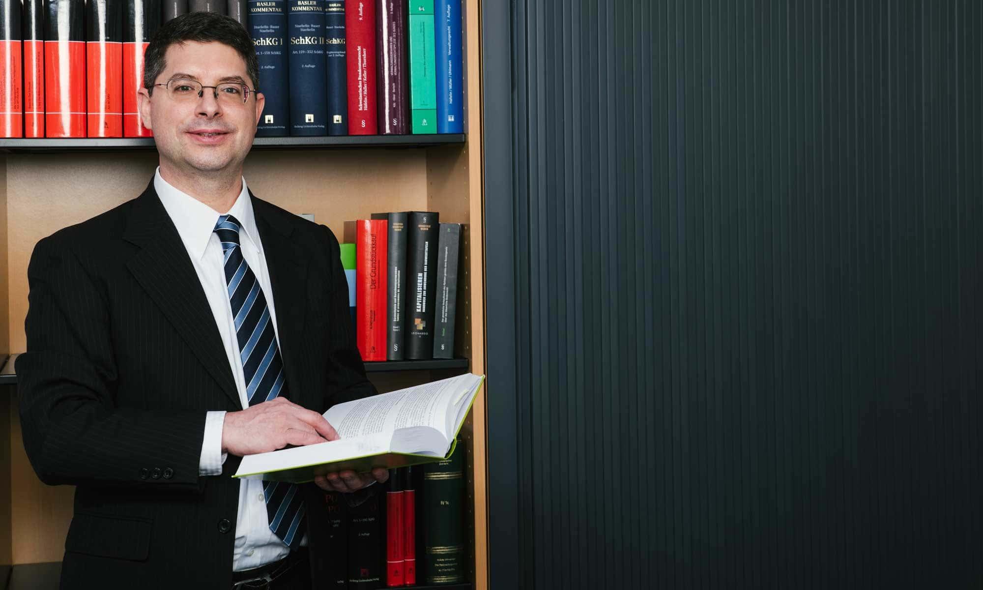 Dr. iur. Lorenz Strebel